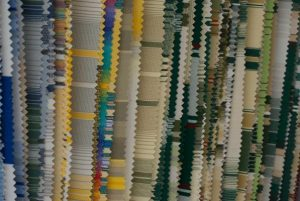 Variety of fabrics and color swatches